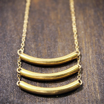 Bar III - Gold Necklace