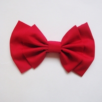 Pure Red Bow