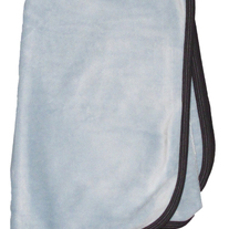 Coccoli Velour Blanket- Light Blue