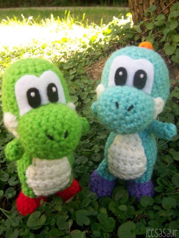 Crochet Patterns Yoshi : Yoshi Amigurumi - Thumbnail 3
