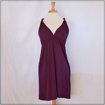 Purple Sweetheart Strappy Dress