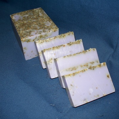 Natural lavender goats milk bar soap