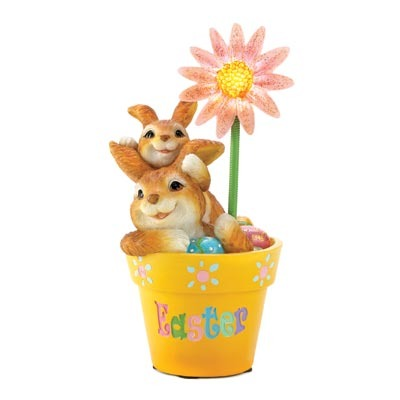 Flowerpot Easter Decor