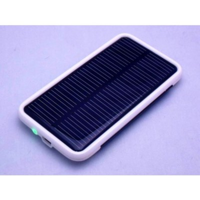 Solar mobile power bank for iphone / cell phone / mp3 & mp4 player 1800mah