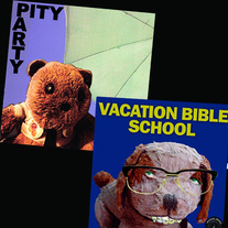 Vacation Bible School / Pity Party split 7""