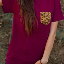 Cheetah Pocket Punt T-Shirt