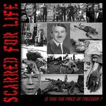 SCARRED FOR LIFE 'is this the price of freedom' 7''
