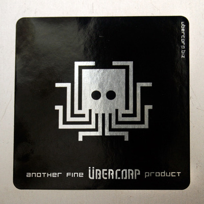 Übercorp product stickers - set of 2