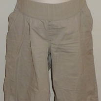 Khaki Shorts-Liz Lange Maternity Size Medium  01276
