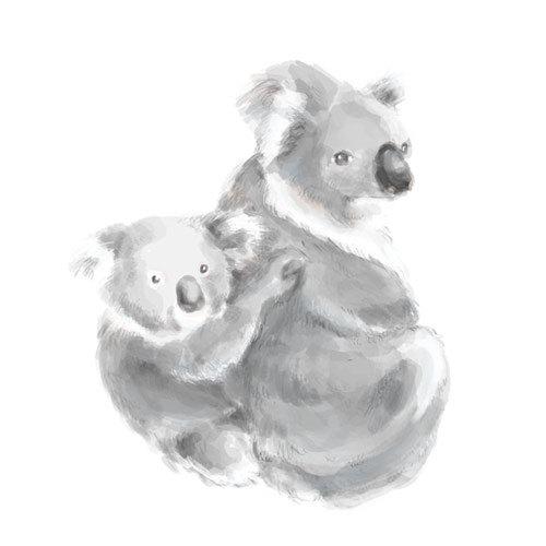 Nursery Art 8 Quot X10 Quot Koala Painting Koala Bear Koala Baby