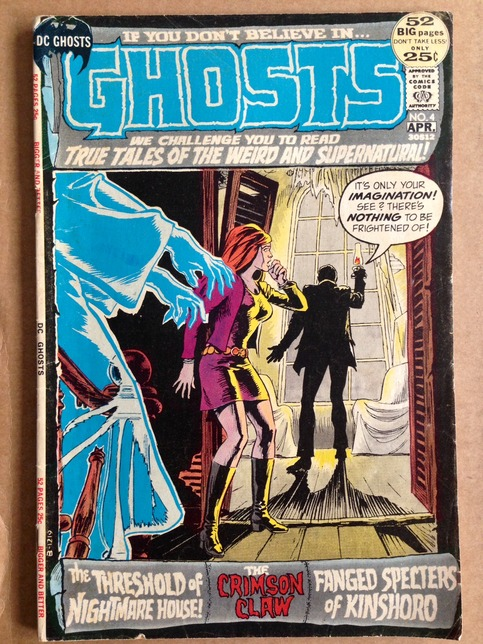 Dc Ghosts No 4 April 1972 On Storenvy
