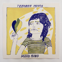 TEENAGE MOODS - 'MOOD RING' LP (LIMITED EDITION BLACK VINYL)