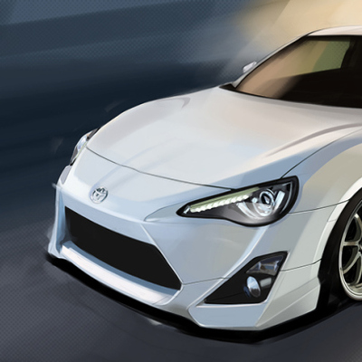 "Gt86 heavyweight print - 13""x19"""