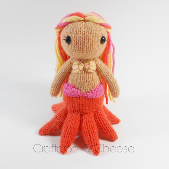 Amigurumi Wool : Amigurumi Knit Octomaid Plush ? Crafteroni & Cheese ...