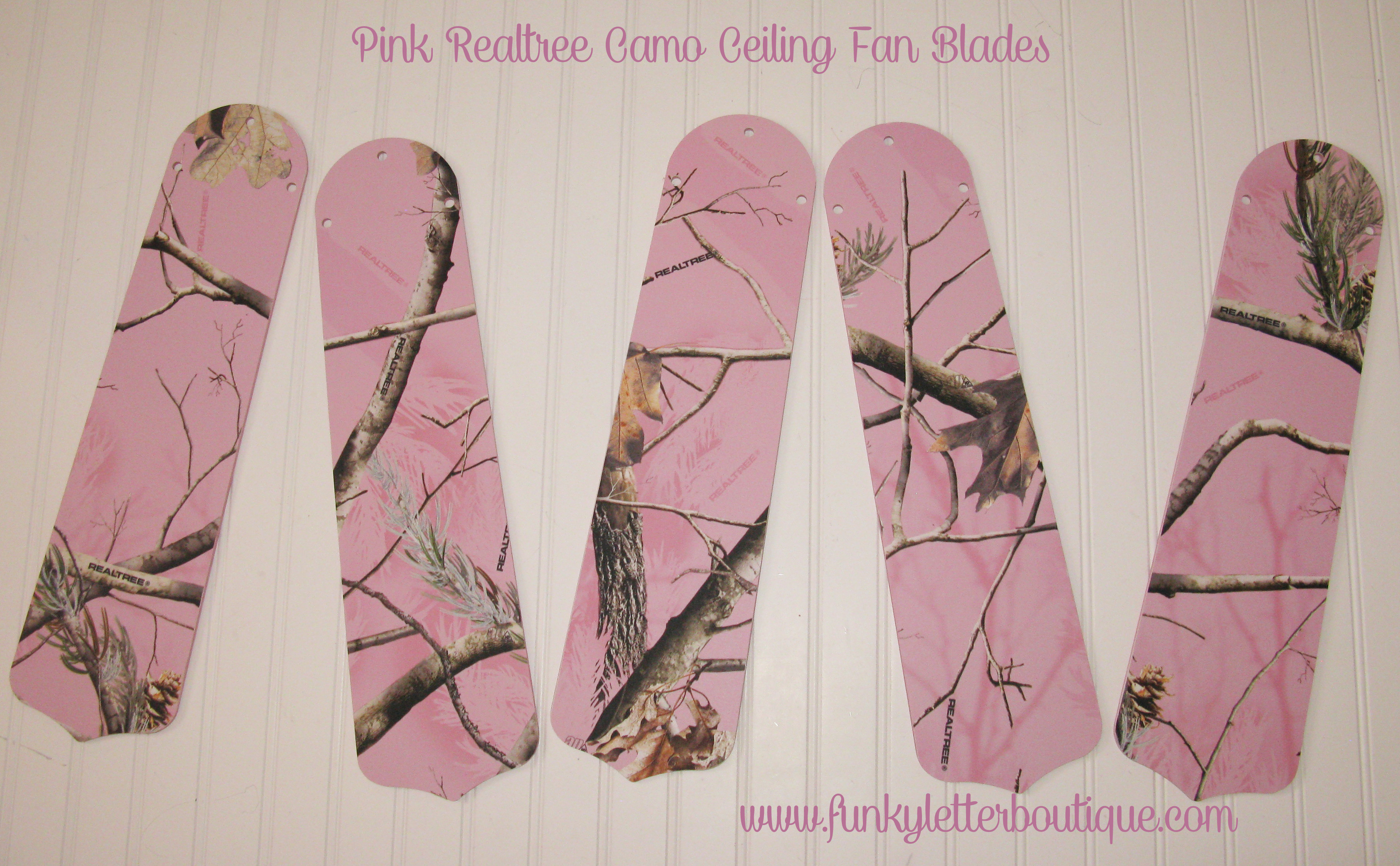 Pink realtree ap camo ceiling fan blades funky letter boutique pink realtree ap camo ceiling fan blades aloadofball Gallery