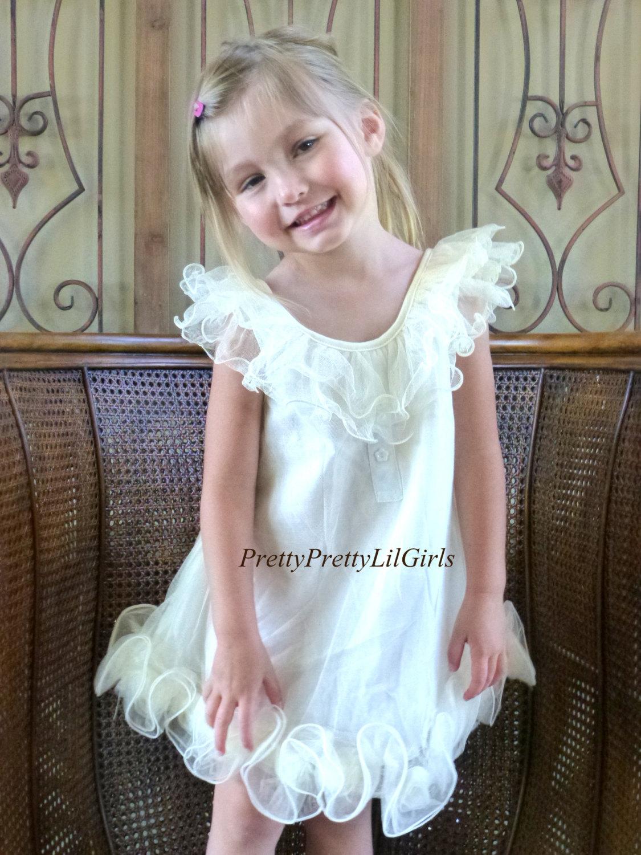 Girls Lace Dress Flower Girl Dress Princess Dresslittle Girls