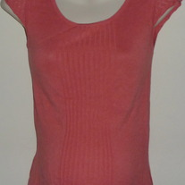 Dark Pink Short Sleeve Sweater-Old Navy Maternity Size XS  CLTE1