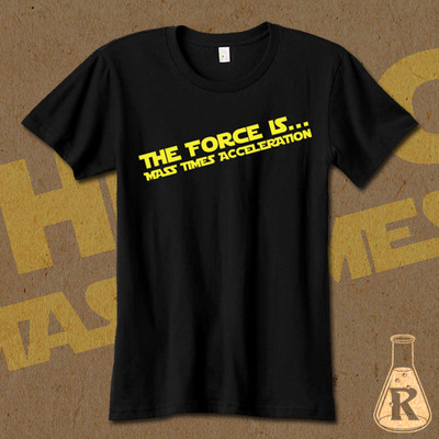 The force is...