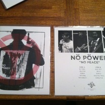 "Nö Pöwer- No Peace 12"" LP (Sorry State Records)"