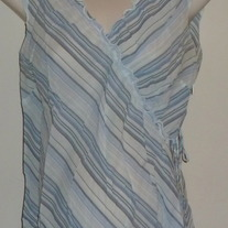 Blue Stripe Top-Old Navy Maternity Size XS  CLTE2