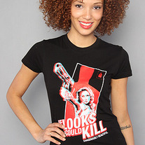 The If Looks Could Kill Tee in Black