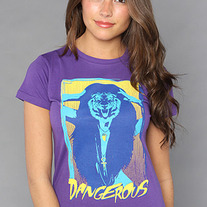 The Tiger Lady Tee in Purple