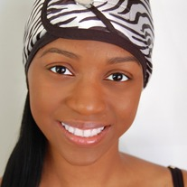 Diva Hair Wrap- Zebra