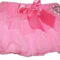 Laura Dare Girls Pettiskirt- Bright Pink