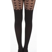 Heart Suspender Stockings