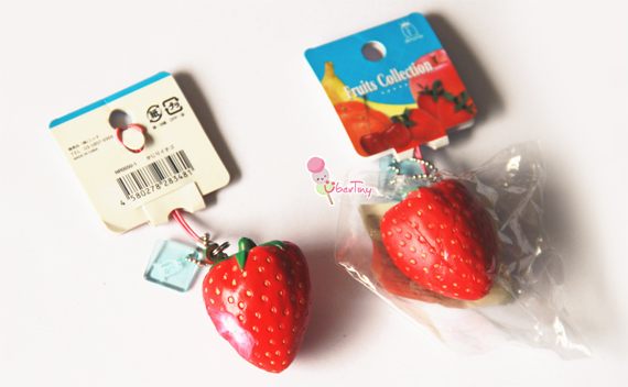 Rare* Uncle Nic s Fruit Collection Squishy (strawberry) ? Uber Tiny ? Online Store Powered by ...