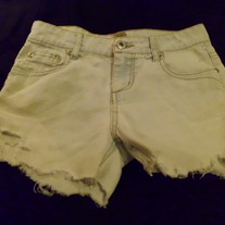 Faded Short shorts size 00-0 teens
