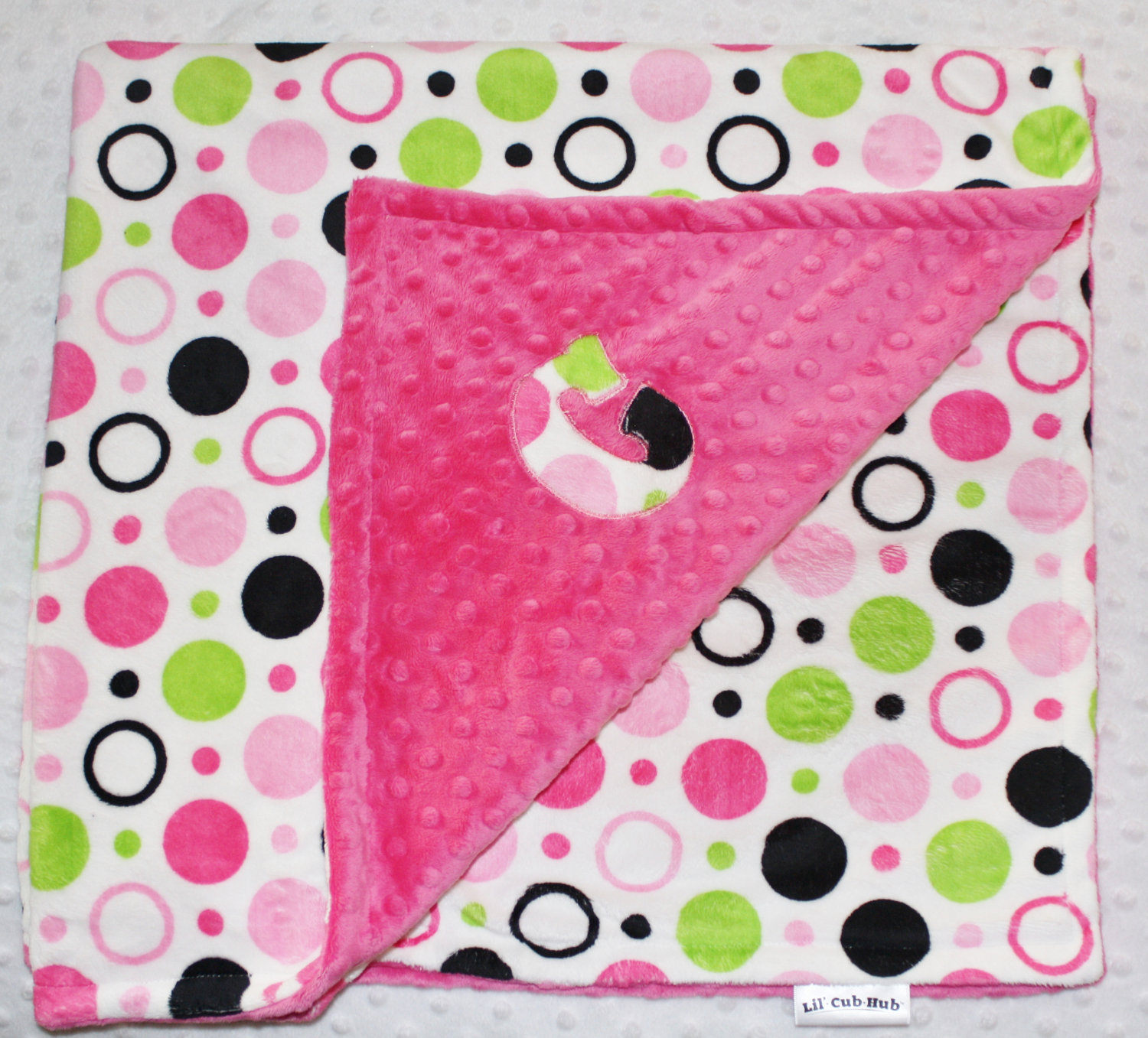 Minky blanket with initial letter applique all patterns lil cub minky blanket with initial letter applique all patterns spiritdancerdesigns Gallery
