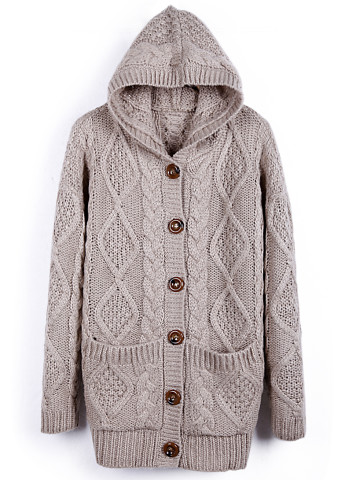 hooded cardigan coat thickening BBCEG · MegaFashion · Online Store ...