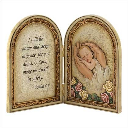 Biblical Baby Blessing Plaque