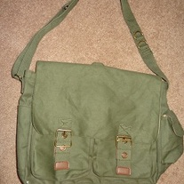 Green Messenger Bag