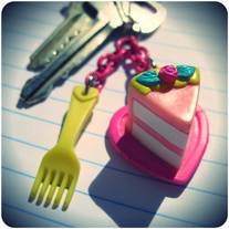 Have your CAKE! (...but don't eat it.) Key Chain