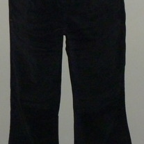 Black Corduroy Pants-Motherhood Maternity Size Small  021111