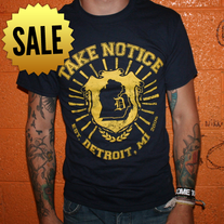 TEE | Take Notice Emblem (Navy) *SALE*