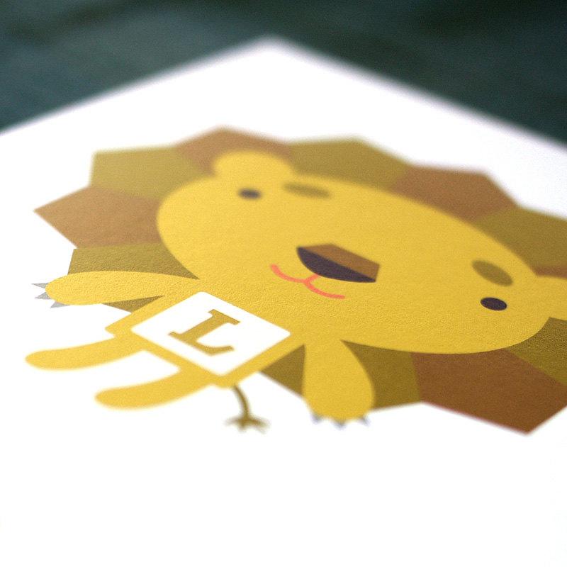 Tofufu | Zoofufu ABC Block Art Print Set // Alphabet Kids Wall Art ...