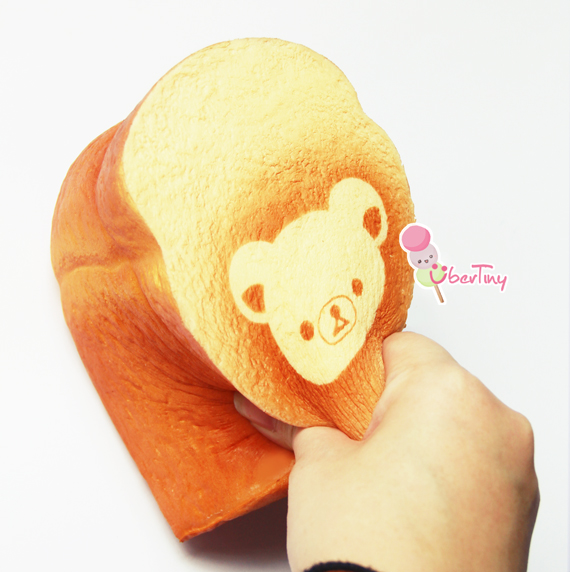 Rare Squishy Fan Mail : Super *Rare* Rilakkuma Jumbo Loaf Squishy ? Uber Tiny ? Online Store Powered by Storenvy