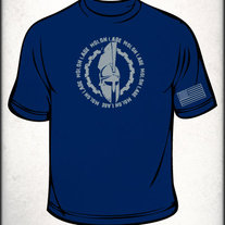 MLCCW Spartan Shirt 4XL (Navy Blue)