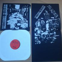 NOTHING IS OVER / PIGSTICKER split lp