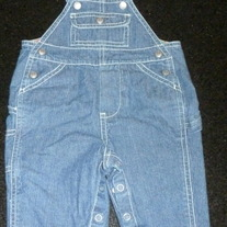 Denim Overalls-Baby Gap Size Newborn Up to 3 Months