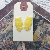 Owl Earrings *Available in other colors