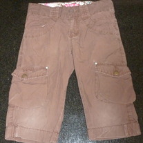 Brown Capris-The Children's Place Size 8