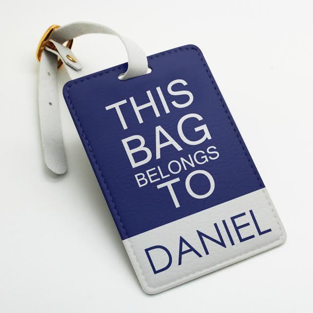 customizable luggage tags