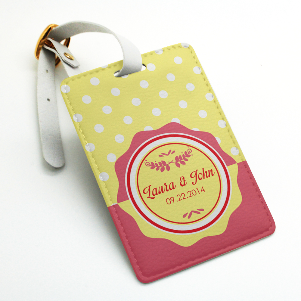 Personalized custom made welcome Luggage Tag, Bag Tag, Travel Tag ...