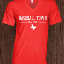 Baseball Town Women's Red