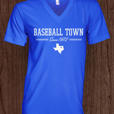 Baseball town women's blue