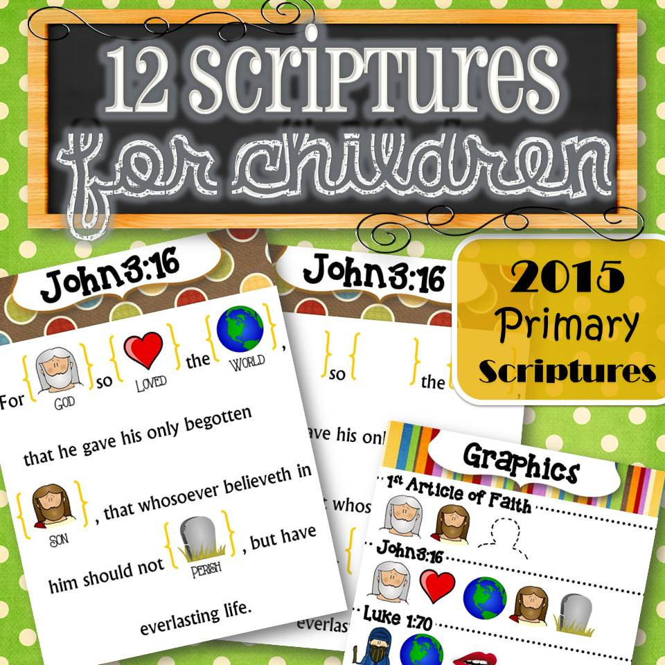 2015 primary monthly scriptures search results for Idea door primary 2015